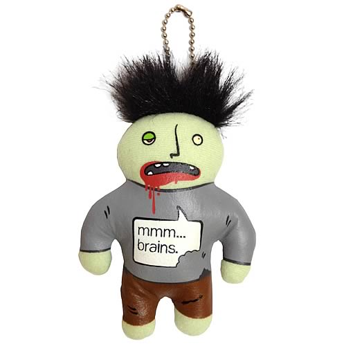 Zombie Plush Key Chain