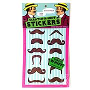 Moustache Scratch-n-Sniff Sticker Pack