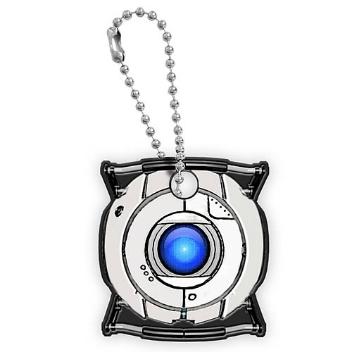 Portal Space Sphere Key Cap Key Chain
