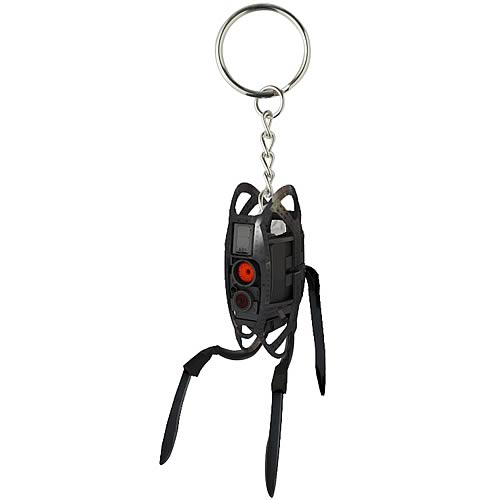 Portal 2 Defective Turret Sentry Key Chain