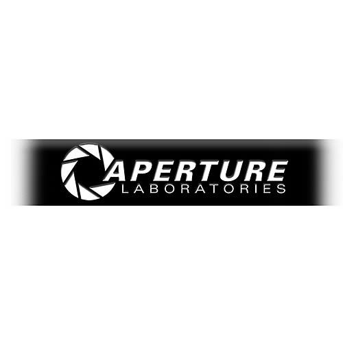 Portal Aperture Laboratories Black Silicone Bracelet
