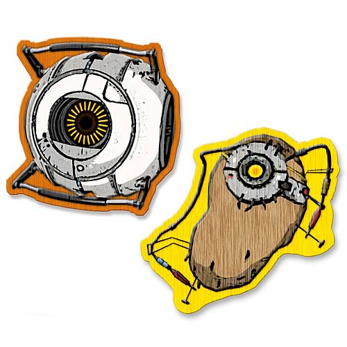Portal Space Core and POTaDOS Collectible Patch 2-Pack