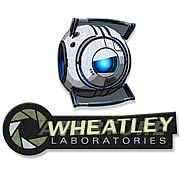 Portal Aperture Logo and Wheatley Collectible Patch 2-Pack