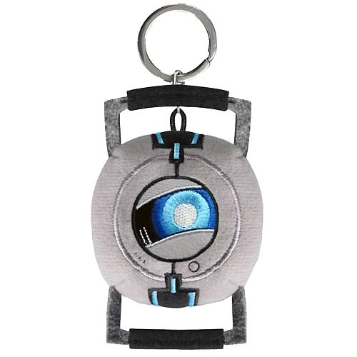 Portal Wheatley Plush Key Chain