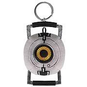 Portal Space Sphere Plush Key Chain
