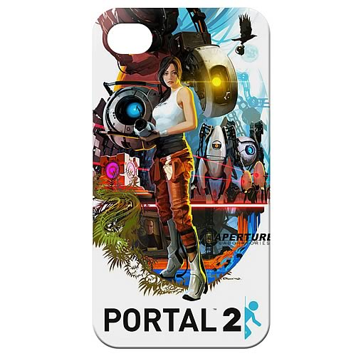 Portal 2 Poster Design iPhone 4 Case