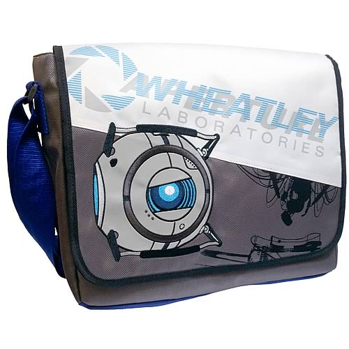 Portal 2 Wheatley Laboratories Messenger Bag