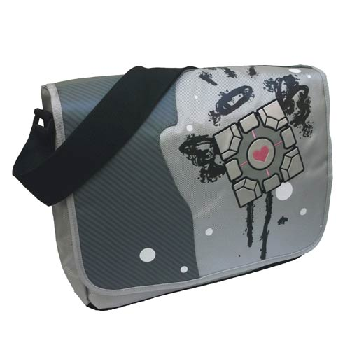 Portal 2 Original Companion Cube Messenger Bag
