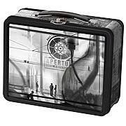 Portal 2 1940s Aperture Laboratories Tin Lunch Box