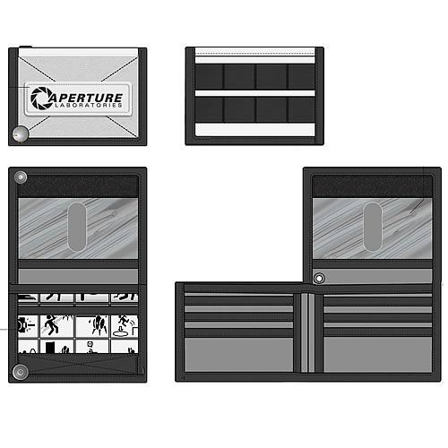 Portal 2 Aperture Laboratories Wallet