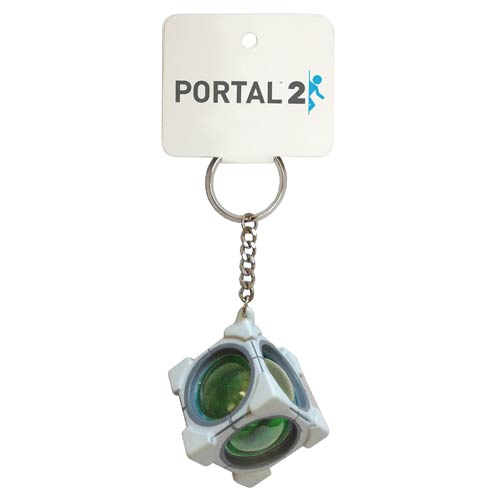 Portal 2 Refracting Box Key Chain