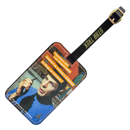 Star Trek Spock Graphic Luggage Tag