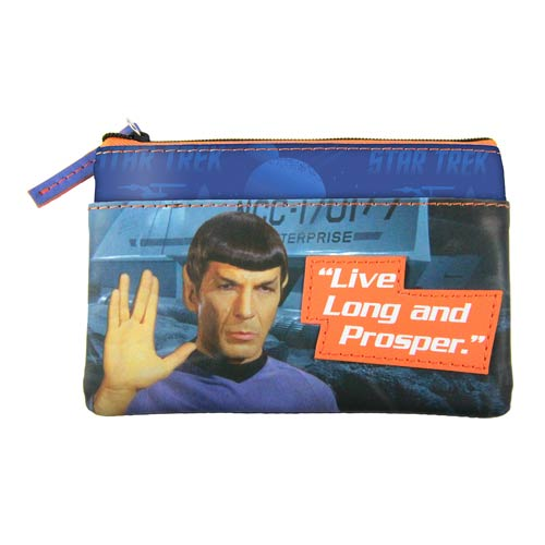 Star Trek Spock Graphic Coin Purse
