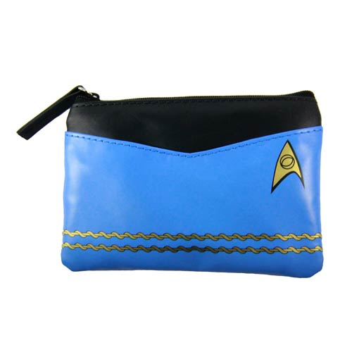 Star Trek Original Series Blue Uniform Coin Purse