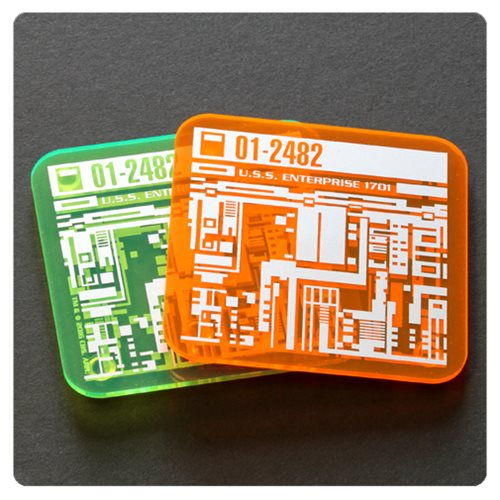 Star Trek Isolinear Chip Coaster 2-Pack