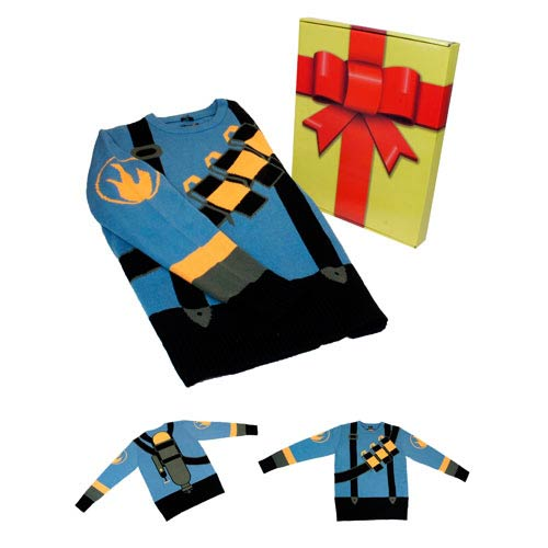Team Fortress 2 BLU Pyro Sweater