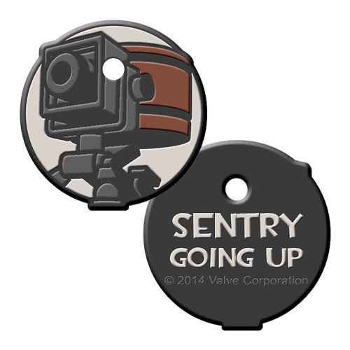 Team Fortress 2 Sentry Gun Keycap Key Cover