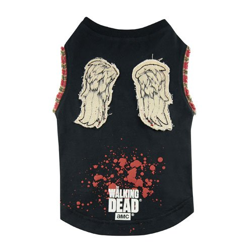 The Walking Dead Daryl Wings Pet Dog T-Shirt