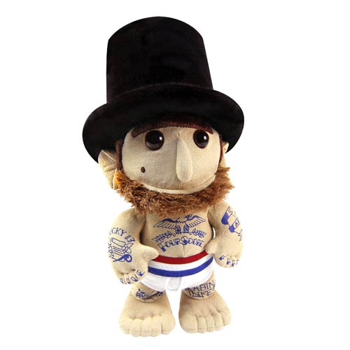 WhimWham Abe Lincoln Underpants Tattoo 10-Inch Plush