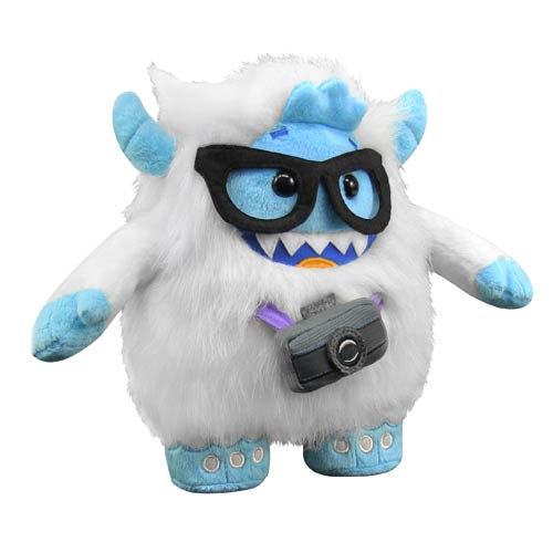 WhimWham Yeti Nerd Glasses Camera 8-Inch Plush