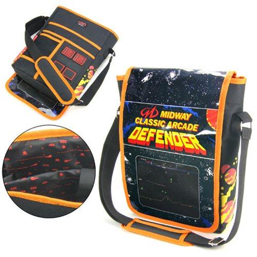 Midway Arcade Defender Messenger Bag