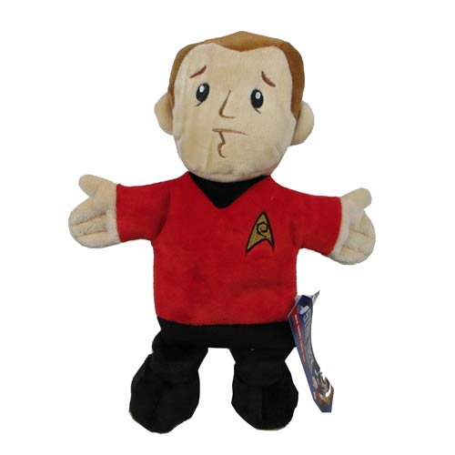 Star Trek Red Shirt 12-Inch Dog Chew Toy Plush