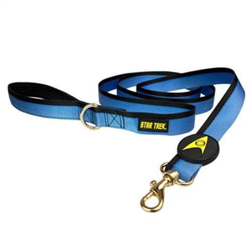 Star Trek The Original Series Blue Uniform Dog Leash