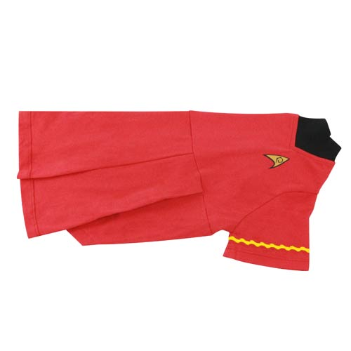 Star Trek The Original Series Uhura Uniform Dog Shirt