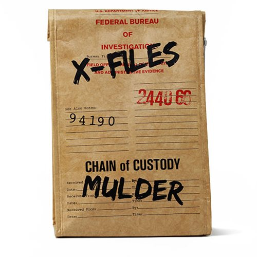 X-Files Evidence Bag Lunch Tote