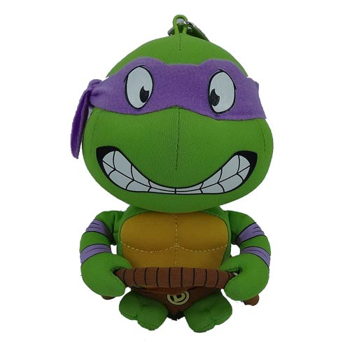 TMNT Donatello Super Deformed 5 1/2-Inch Plush Key Chain