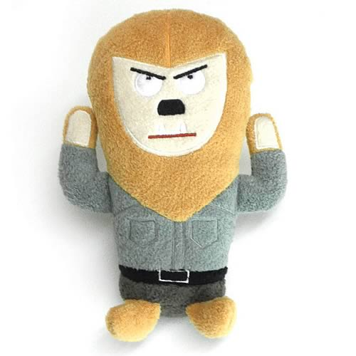 Universal Monsters Wolfman Footzeez Plush