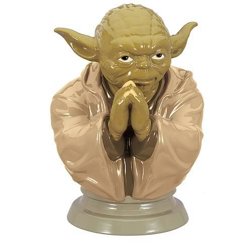Star Wars Yoda Ceramic Bank