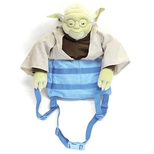 Star Wars Yoda in Pack Back Buddy