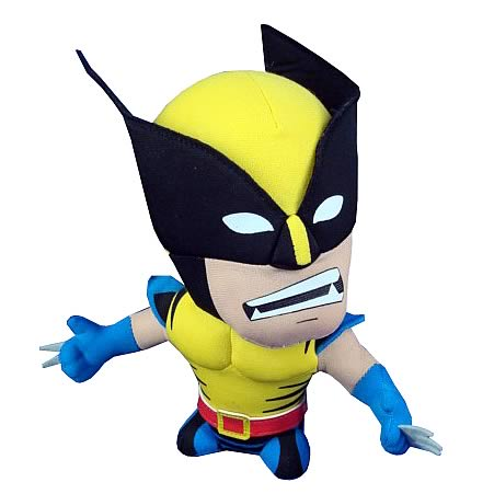 X-Men Wolverine Super Deformed Plush