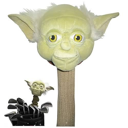 Star Wars Yoda Golf Club Cover