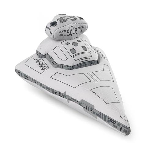 Star Wars Star Destroyer Super Deformed Vehicle Plush