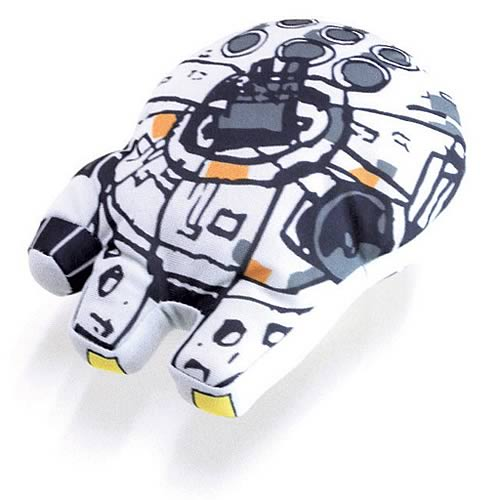Star Wars Millennium Falcon Super Deformed Vehicle Plush
