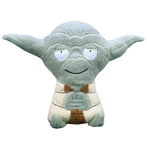 Star Wars Yoda Footzeez Plush