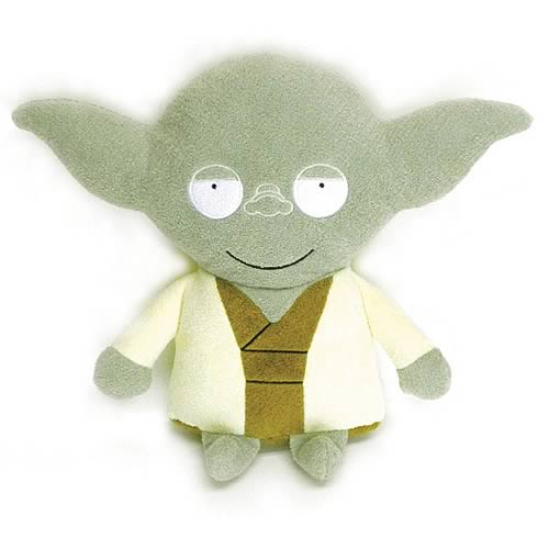 Star Wars Yoda Big Footzeez Plush
