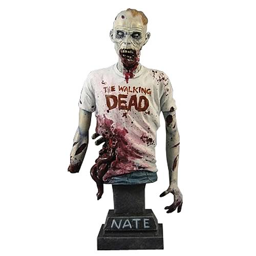 The Walking Dead Nate Torso Bust