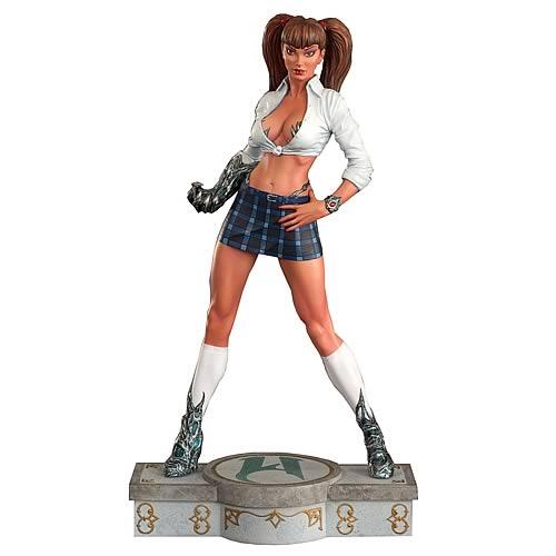 Schoolgirl Witchblade Statue