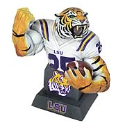 LSU Tigers Football Mascot Bust