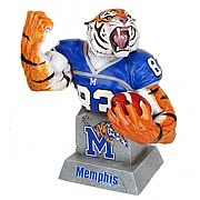 Memphis Tigers Football Mascot Bust