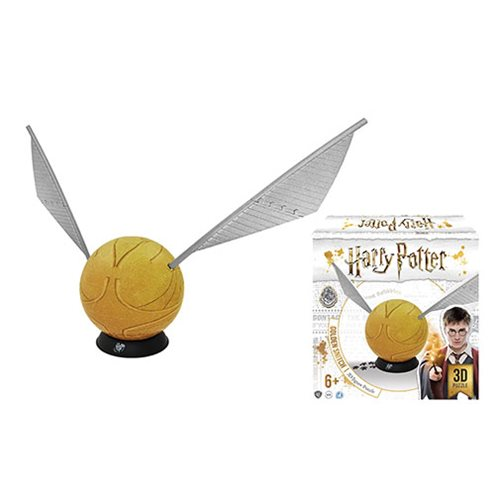 Harry Potter Golden Snitch 3D Large 6-Inch Puzzle