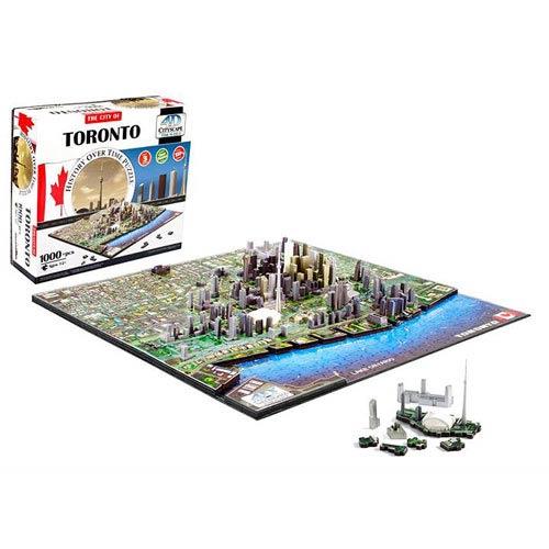 Toronto Canada 4D Puzzle