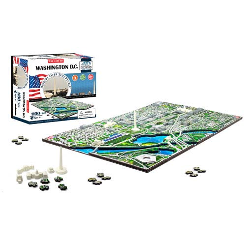 Washington DC USA 4D Puzzle