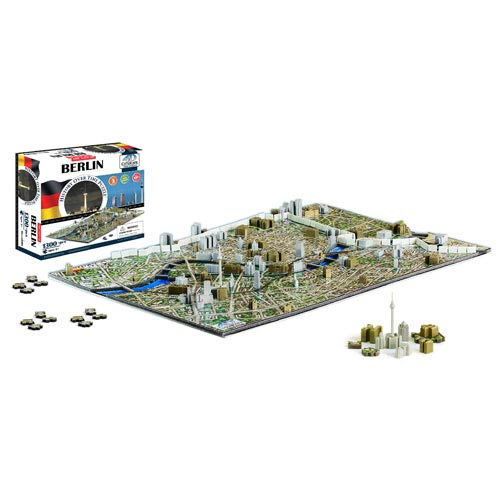 Berlin Germany 4D Puzzle
