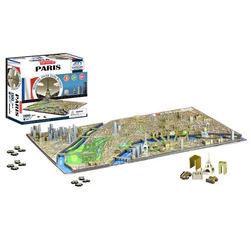 Paris France 4D Puzzle