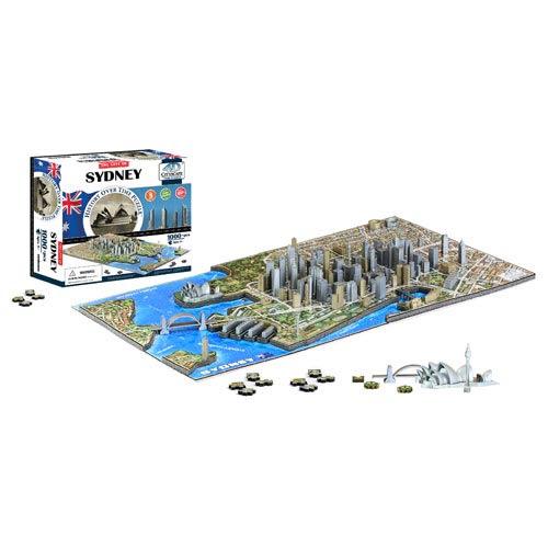 Sydney Australia 4D Puzzle
