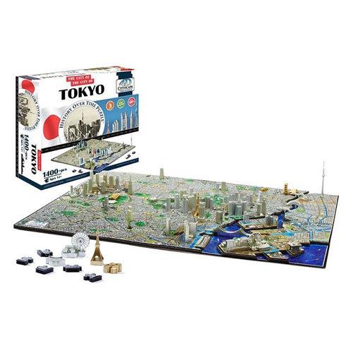 Tokyo Japan 4D Puzzle